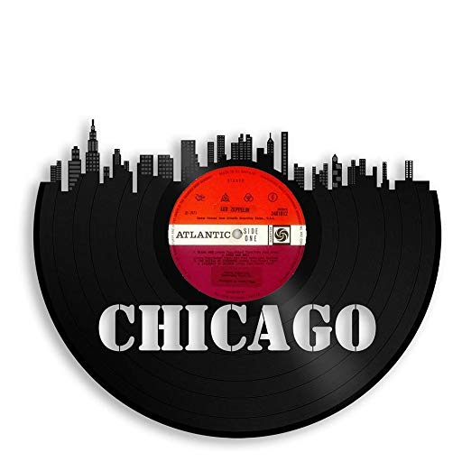 Chicago Vinyl Wall Art - Atlantic Records