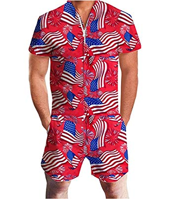 Men's America Romper