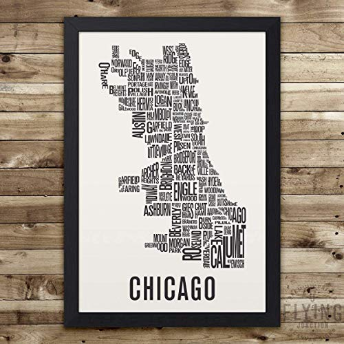 Chicago Neighborhood Print