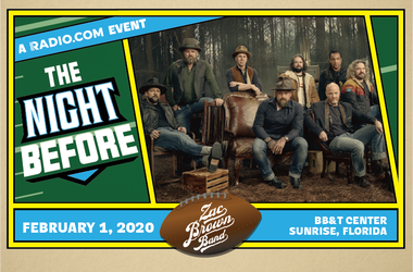 The Night Before with The Zac Brown Band
