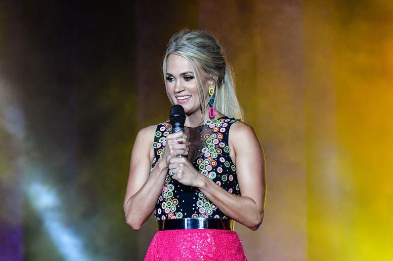 Carrie Underwood performs at CMT Music Awards