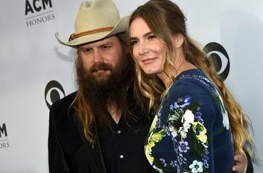 Chris Stapleton and Morgane Stapleton attend the 11th Annual ACM Honors