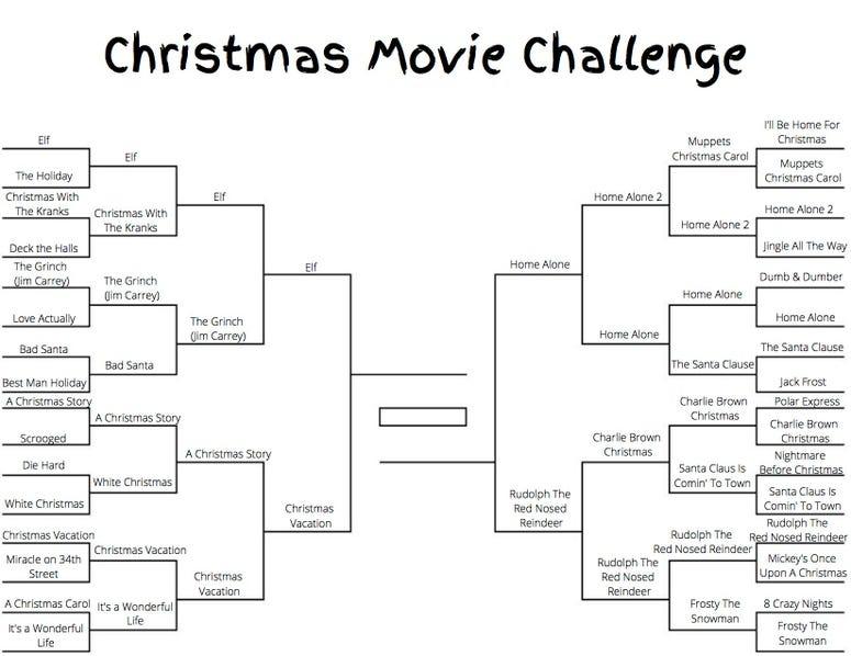 Christmas Movie Challenge Round 4