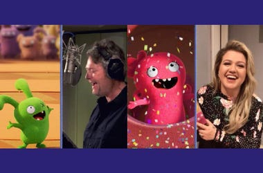 Blake Shelton & Kelly Clarkson in Ugly Dolls