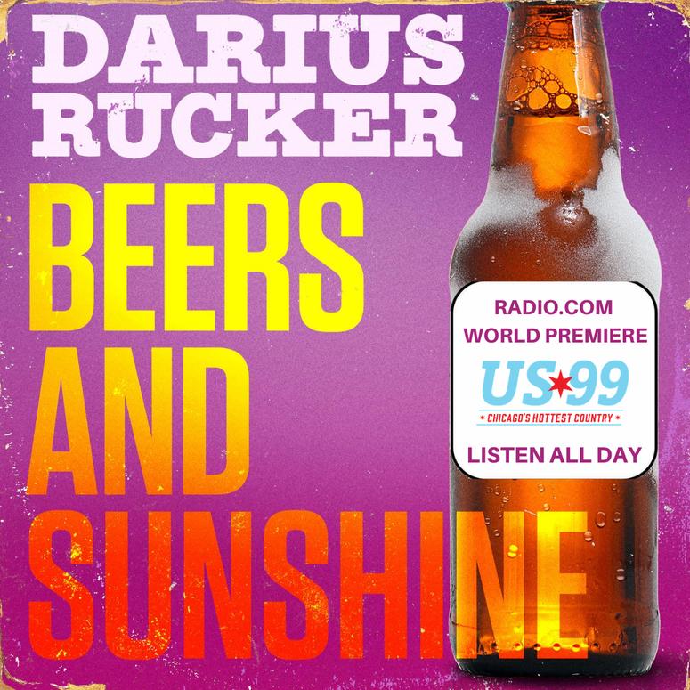 Darius Rucker, New Song, Single, Beer, Sunshine, RADIO.COM World Premiere