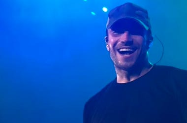 Sam Hunt performs during Luke Bryan's What Makes You Country Tour at Wrigley Field