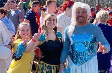 Polar Plunge, Special Olympics, Erin, Jason and Katie in the Morning