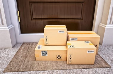 packages at door