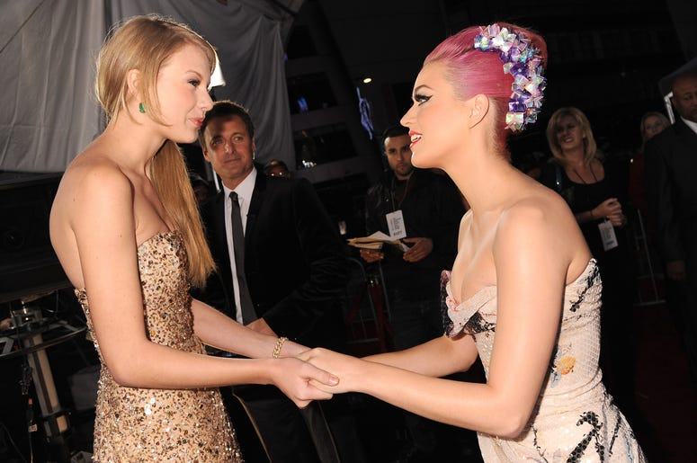 Katy and Taylor