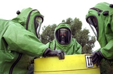 hazmat suit guys