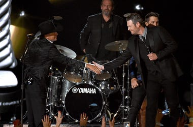 King George and Blake Shelton