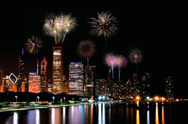 Chicago Fireworks - Navy Pier
