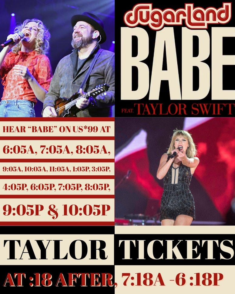 """Sugarland & Taylor """"Babe"""""""