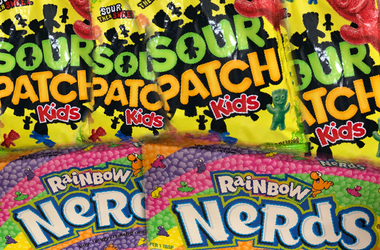Sour Patch Kids vs Nerds