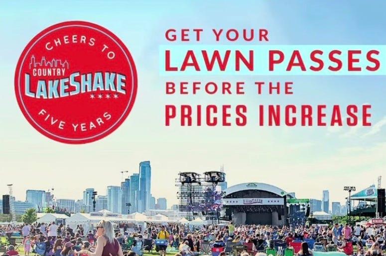 LakeShake lawn increase