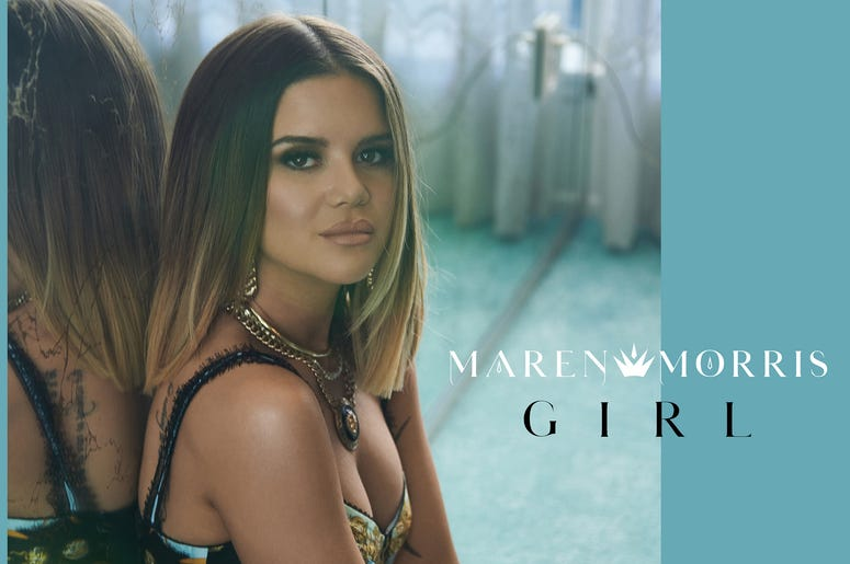 "Maren Morris ""Girl"" Cover Art"