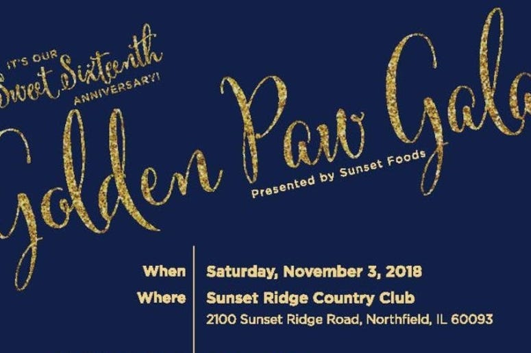 Heartland Animal Shelters 16th Annual Golden Paw Gala
