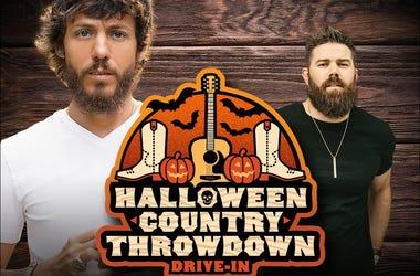 Chris Janson, Jordan Davis, Halloween Throwdown, Drive-in, Concert