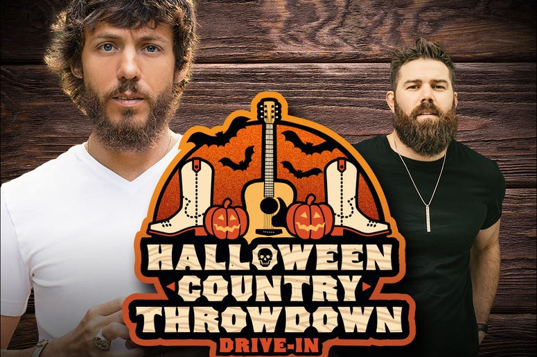 Chris Janson, Jordan Davis, Halloween Throwdown, Drive-in, Concert