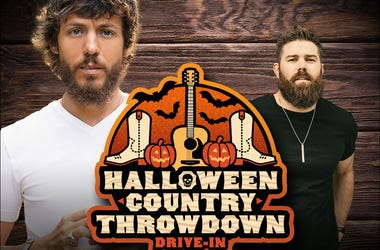 Halloween Country Throwdown Drive-in concert