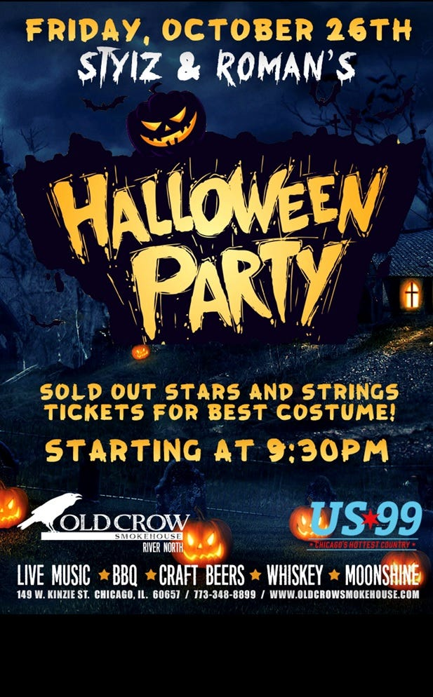 SNR Halloween Party