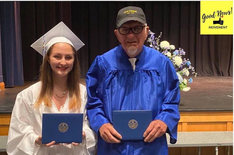 Good Vibes, Grandpa, Granddaughter, High School, Graduation, Dream