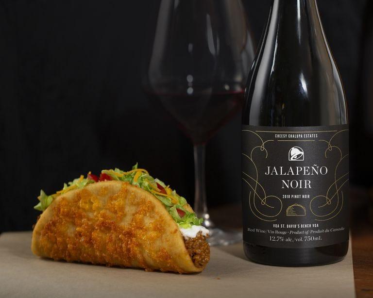 Taco Bell, Wine, Jalapeno Noir