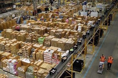 Amazon, Distribution Center, Chicagoland, Bolingbrook