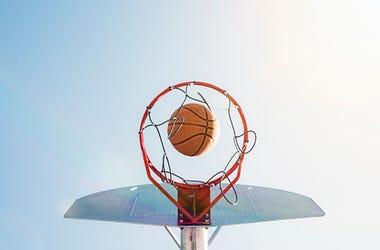 Basketball Hoop, Protests, Philadelphia, Kids, Police