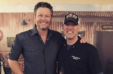 blake shelton and drew walker march 2017
