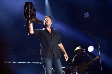 Nashville, Tennessee - Blake Shelton. 2018 CMA Fest Nightly Concert held at Nissan Stadium.
