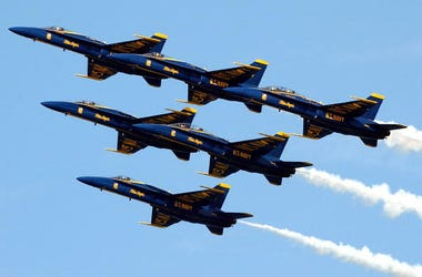 Blue Angels, Chicago, Flyover, Salute, Healthcare Workers, First Responders