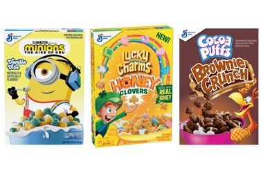 General Mills, Cereal, New Flavors, Sugar, Breakfast
