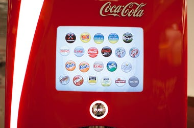 Coca Cola, Freestyle Machine, Touch Free, Soda, Smartphone, Drinks