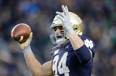 Cole Kmet, Chicago Bears, Football, Arlington Heights, Notre Dame
