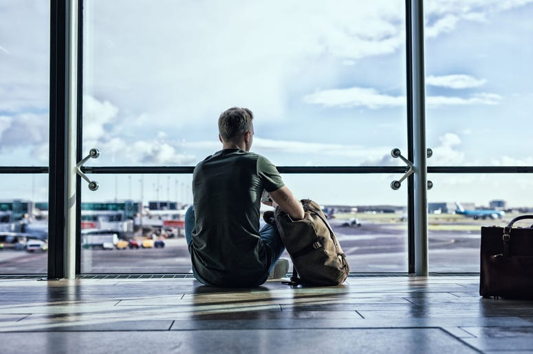 Stock Photo/Man at the airport