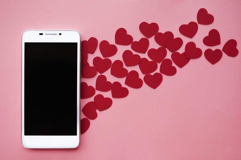 smartphone heart
