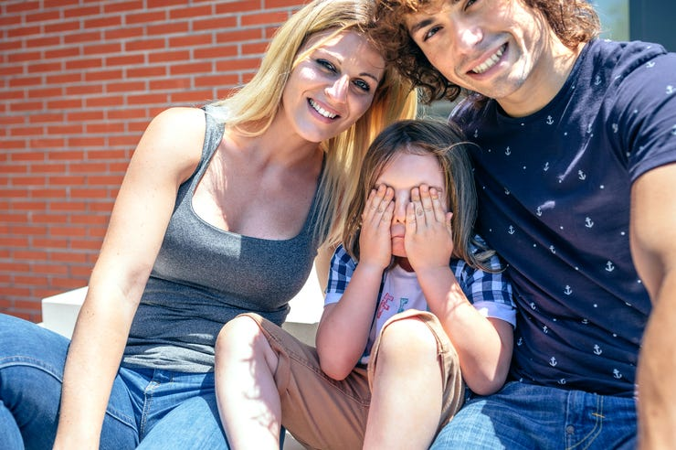 Embarrassed Child