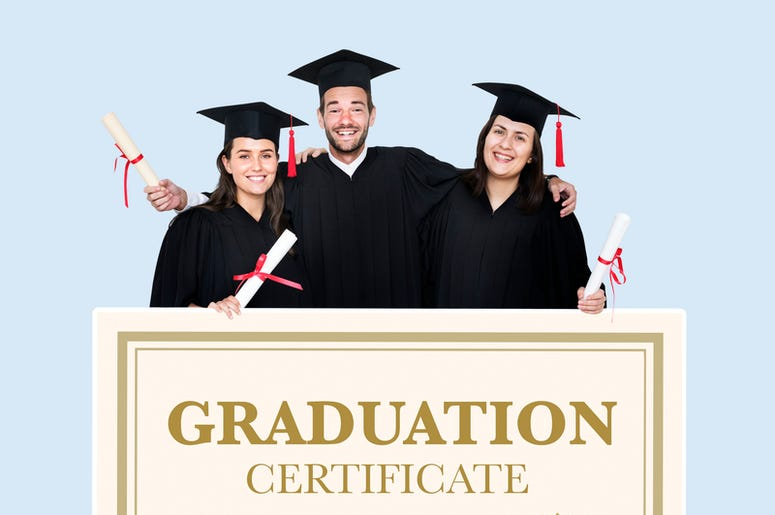 Graduation Cenrtificate
