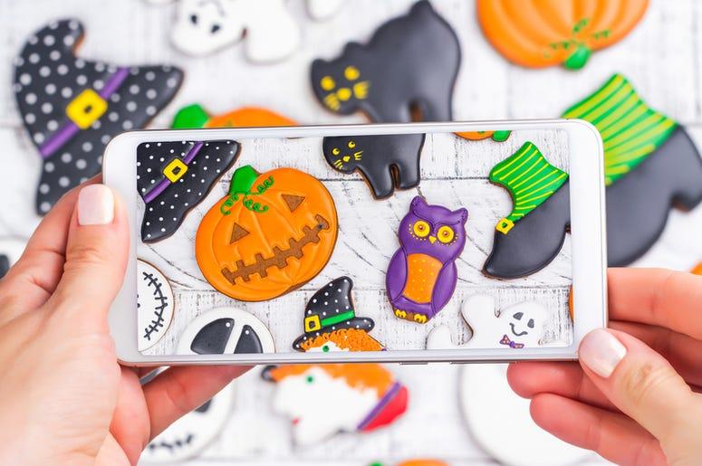 Halloween Smartphone