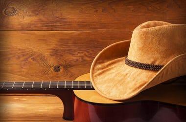 College Cowboy Hat