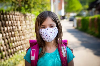 Face Mask, Children, Chicago, Binky, Kids