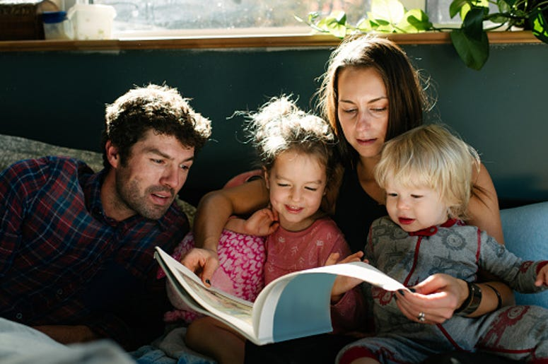Reading, Family, Story Time, Movement, Read Together