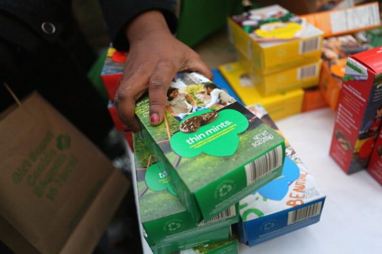 Girl Scout Cookies, Weed Dispensary, Troop, Profits