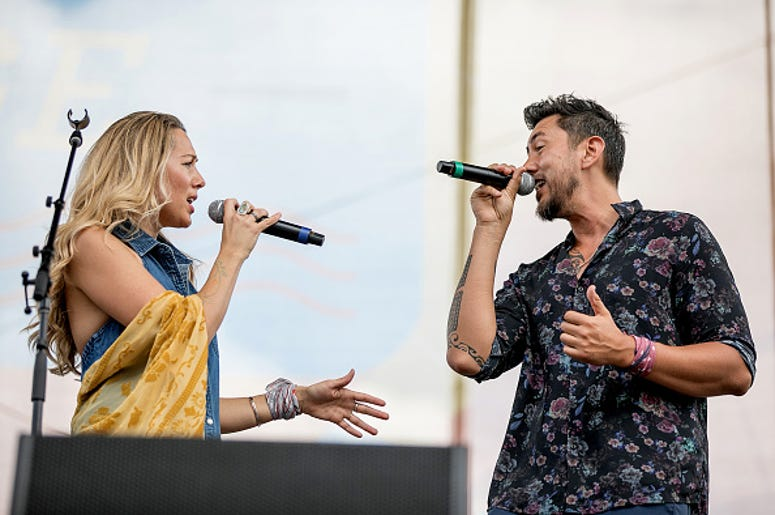 Gone West, Colbie Calliat, country music, Justin Young, Break Up, Engagement