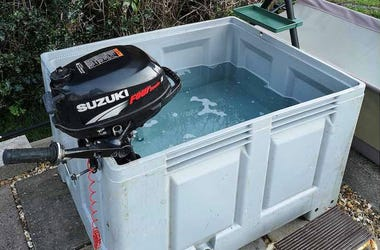 Hillbilly, Hot Tub, Redneck News, Fish Pond, Boat Motor