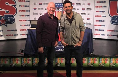 Jake Owen Stars and Strings 2015 with Drew Walker