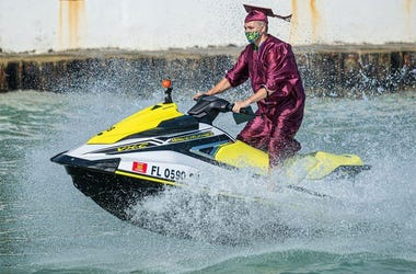 Jet Ski, Graduation, Florida, Key West, Seniors, Class of 2020