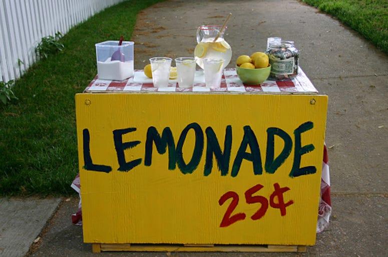 Joke Stand, Lemonade Stand, Laughter, Good Vibes. Quarantine
