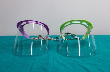 Medical Face Shield, Plainfield, WavePad, Business, Manufacture